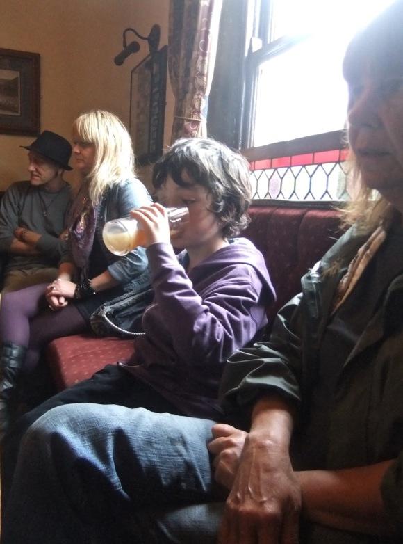 Joe in pub, 3/9/11