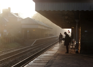 6.50am, HB station, 26/3/14