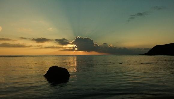 Fiji sunset, 16/5/13