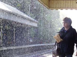 Heavy shower, 11/9/12