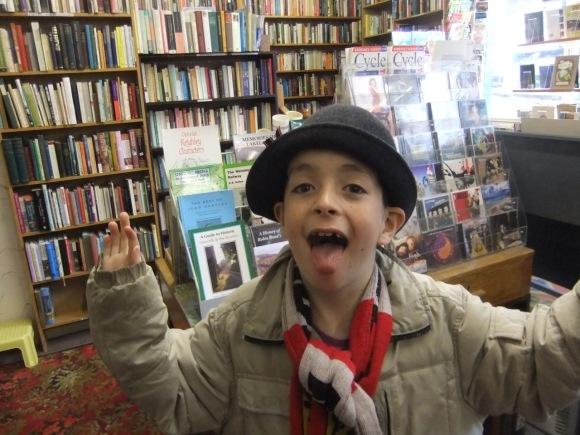 Joe, Haworth bookshop, 8/10/11