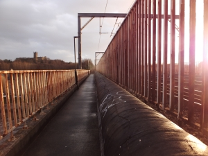 Lancaster railway bridge, 24/12/13