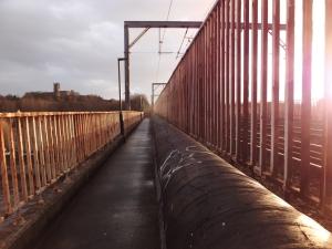 Lancaster railway bridge, 24/12/13