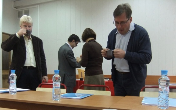 Moscow School colleagues, 27/10/11