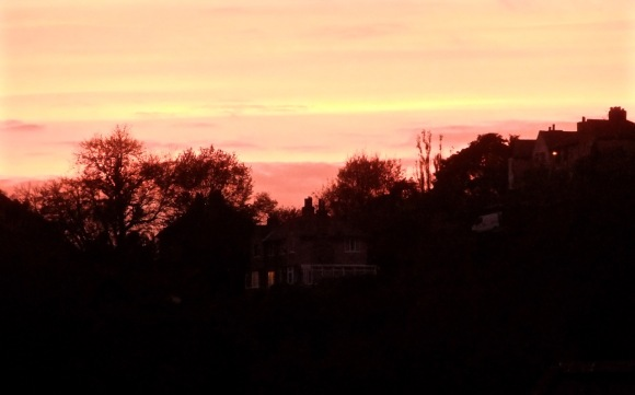 Sunset from home, 13/10/11_low-res