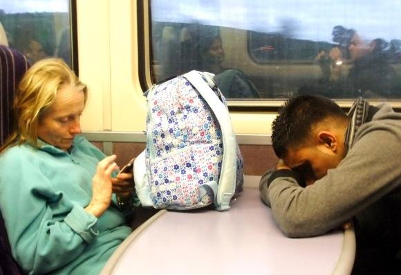 Train home, 17/10/11