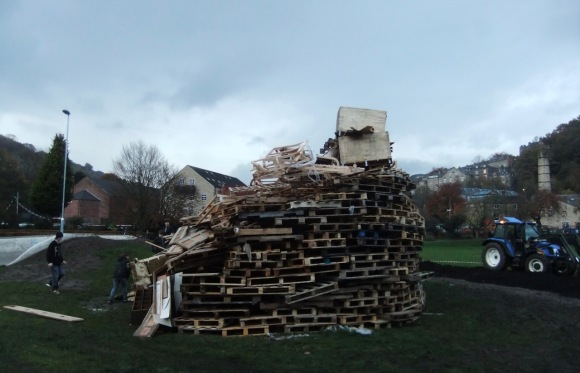 Bonfire-to-be, 4/11/11