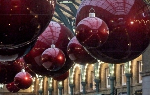 Covent Garden decorations, 17/11/11