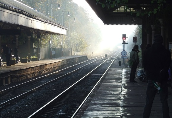 Hebden Bridge station, 2/11/11