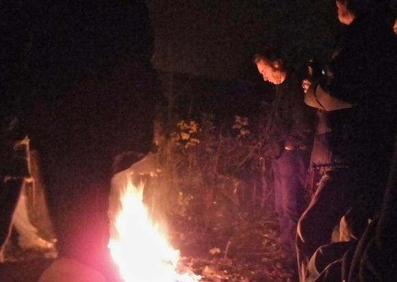 John B, by the bonfire, 13/11/11