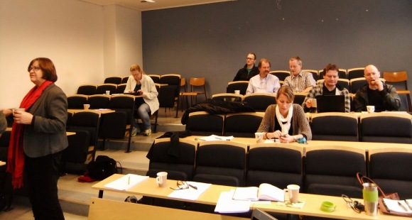 Tea break, CPD workshop, 9/11/11