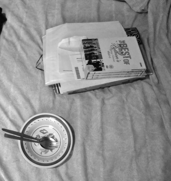 Breakfast on bed, 29/12/11