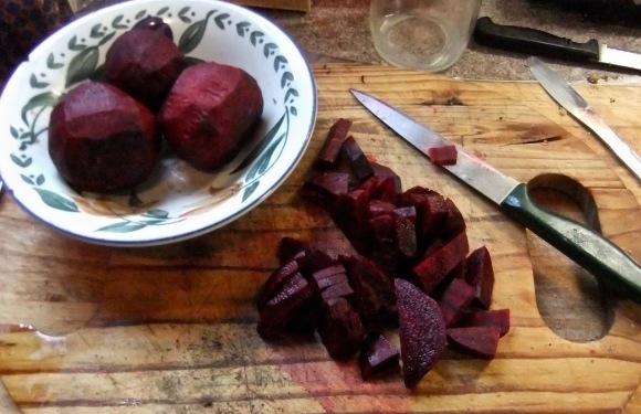 Chopped beetroot, 20/12/11
