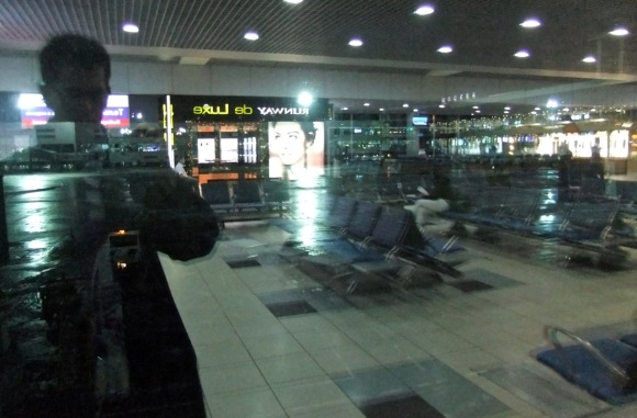 Domodedovo, early morning, 11/12/11