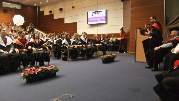Graduation ceremony, 10/12/11