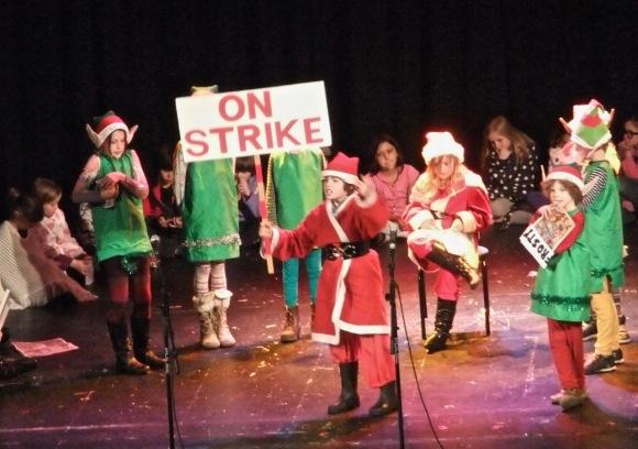 Santa on strike, 13/12/11