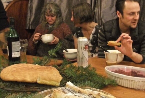 Solstice meal, 21/12/11