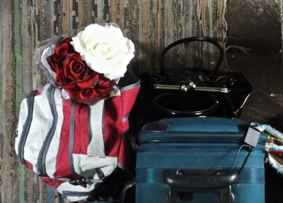 Clare's luggage, 27/1/12