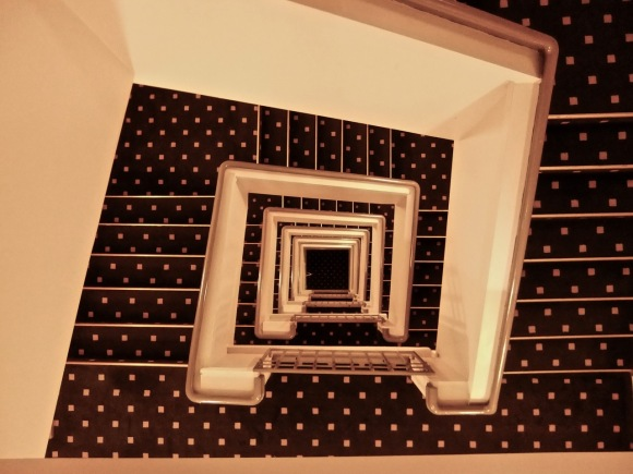 Stairwell, Hotel Rica, 18/1/12