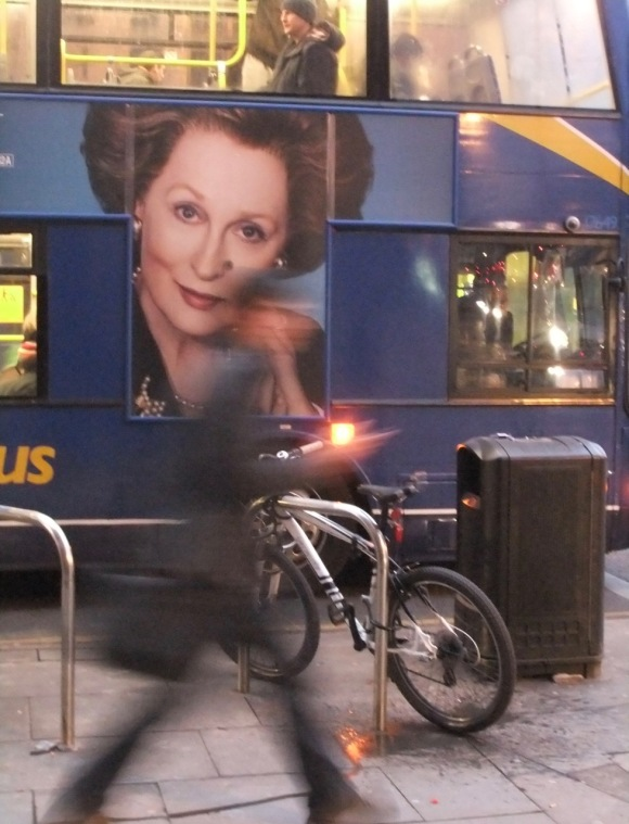 Thatcher on a bus, 31/1/12