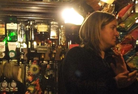 George the barmaid, 10/2/12
