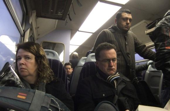 Grumpy commuters, 9/2/12