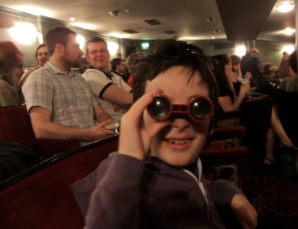 Opera glasses, 25/2/12