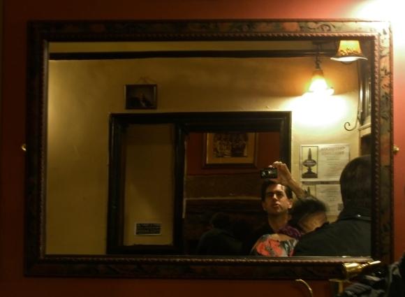 Railway mirror, 24/2/12