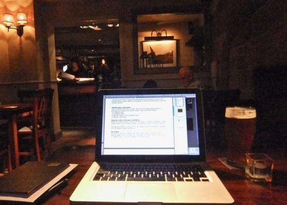 Temporary office, 20/2/12