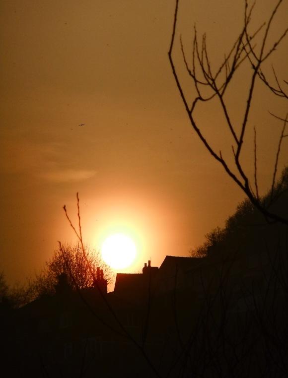 Sunset, 24/3/12