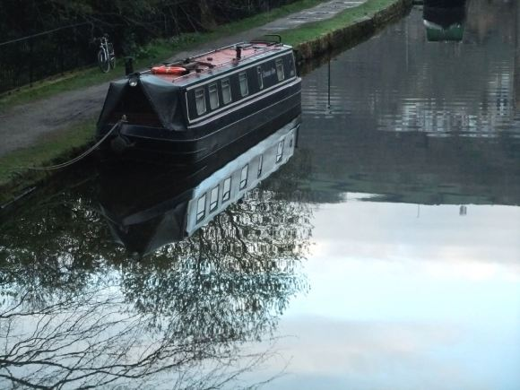 Canal morning, 24/4/12