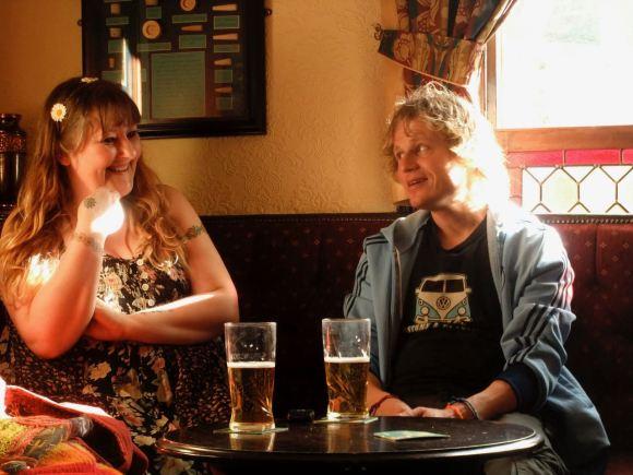 Couple in pub, 12/4/12