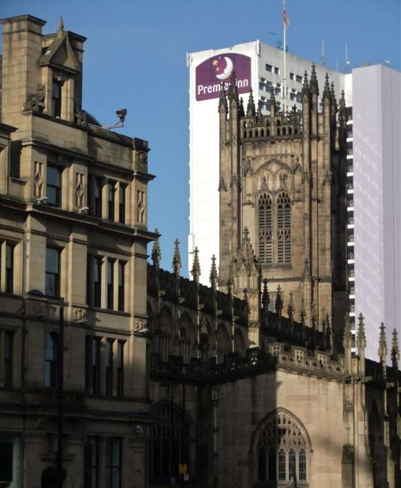 Manchester cathedral, 30/4/12