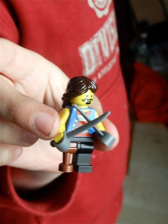 Lego pirate, 8/6/12
