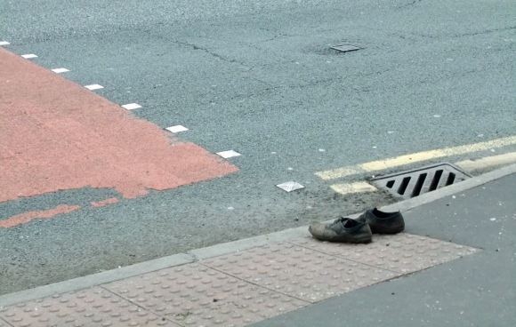 Lost shoes, 11/6/12