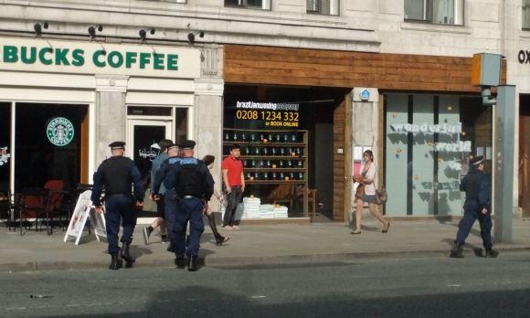 Starbucks riot squad, 19/6/12