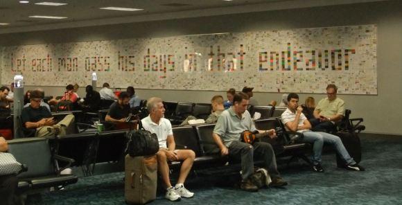 Atlanta airport, 20/7/12