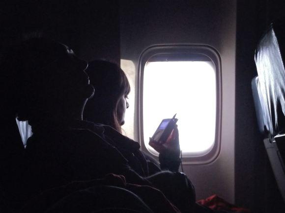 Atlanta-Manchester flight, 21/7/12