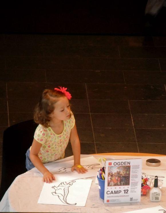 Girl, Ogden museum, 12/7/12