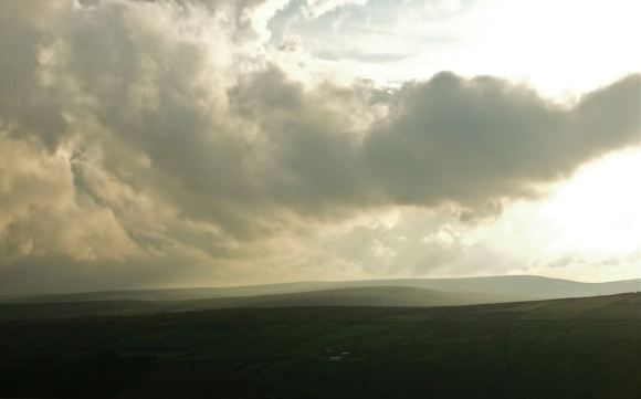 Above Oxenhope, 2/8/12