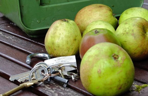 Apples and keys, 16/9/12