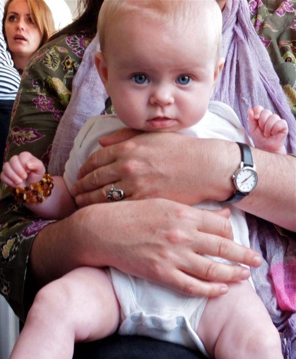Baby Iris, 4/9/12
