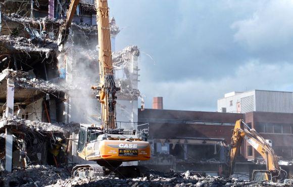 BBC demolition, 11/9/12