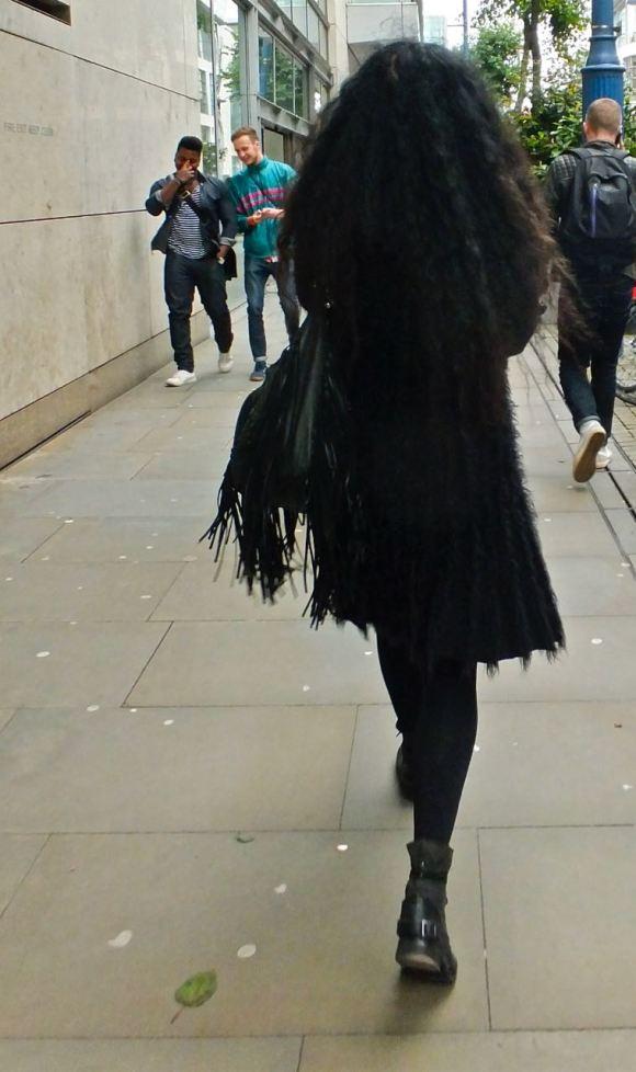Cross Street woman, 28/9/12