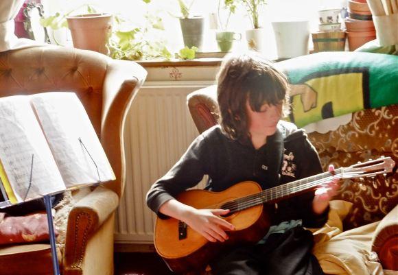 Joe guitar, 9/9/12