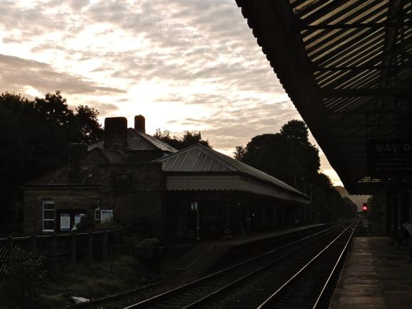 Station sunrise, 13/9/12