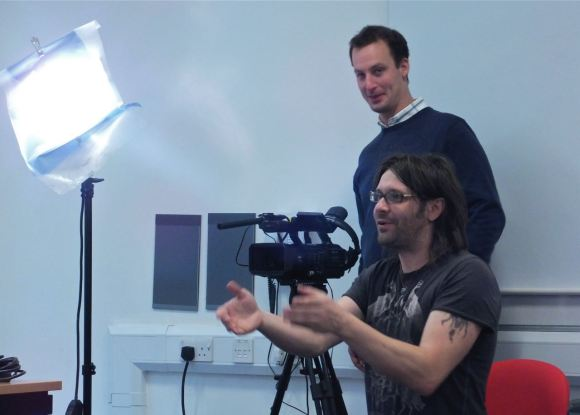 Filming team, 10/10/12