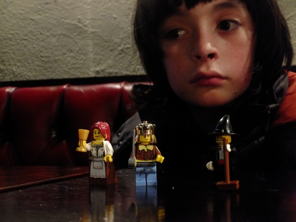 Joe and Lego, 19/10/12