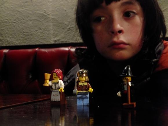Joe and Lego, 19/10/12
