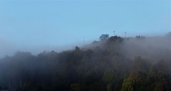 Mist on the hill, 14/10/12